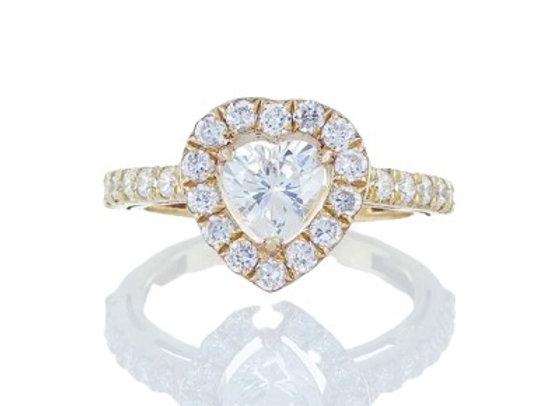 טבעת יהלומים LOVE