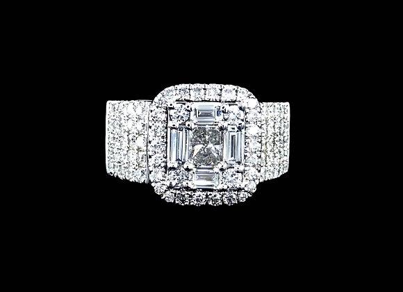 טבעת יהלומים וונדי