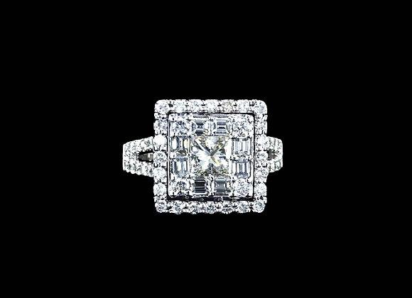 טבעת יהלומים Sandy