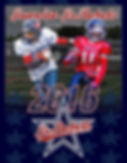 2016 Jr Rebels Football Program Cover
