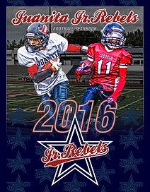 2016 Jr Rebels Football Program Cover