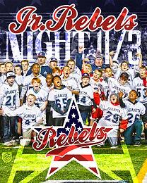 Jr Rebels Night Flyer