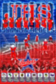 2018 JHS Football Schedule Poster