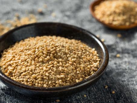 Et si on passait au gomasio. Moins de sel, plus de goût !