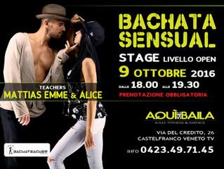 Stage BACHATA SENSUAL!