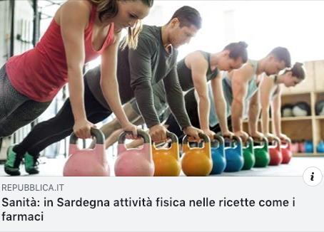 ATTIVITA' FISICA PRESCRITTA IN RICETTA