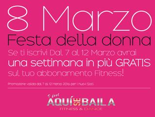 8 Marzo, Festa della Donna!