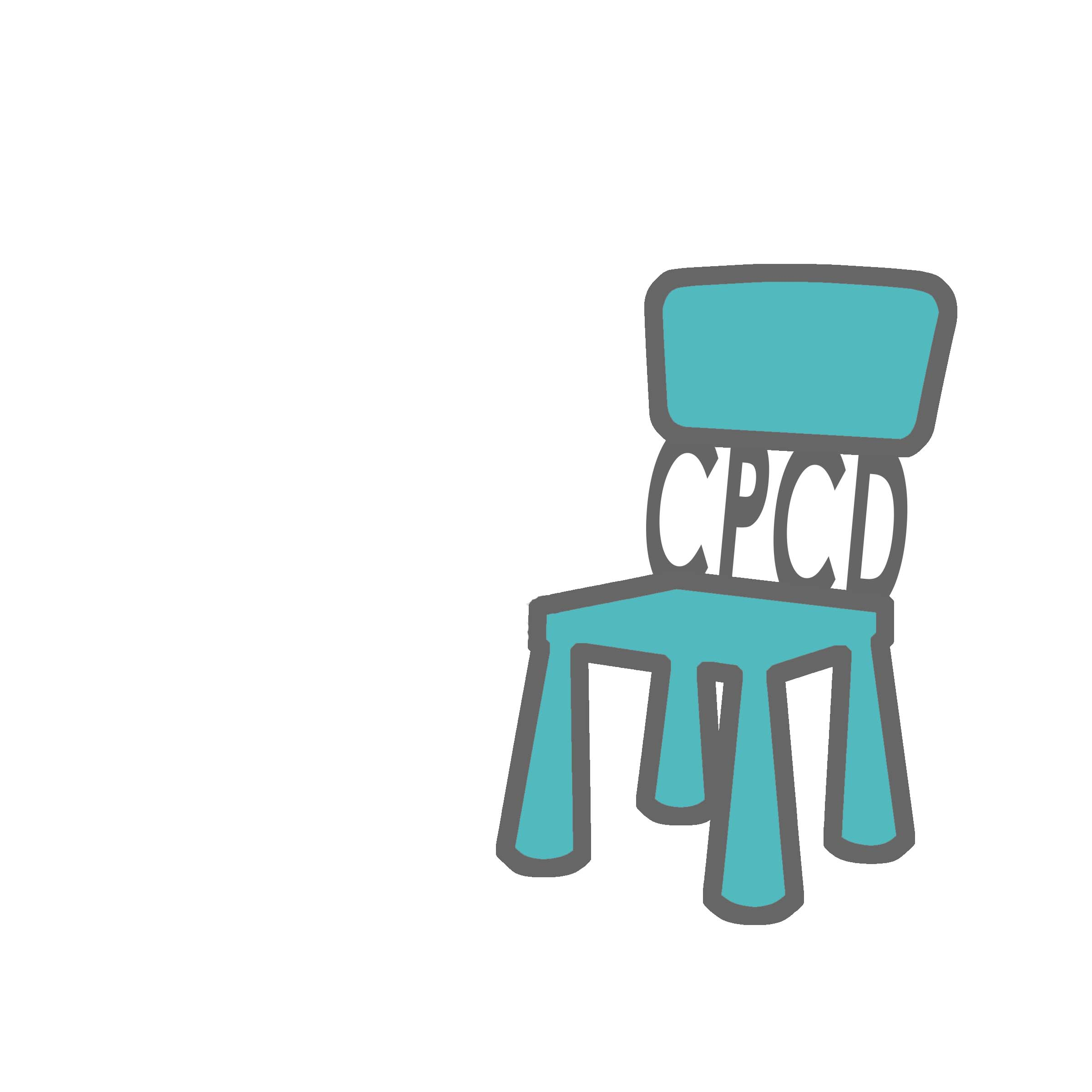Chair Project Logo Final No TextBlue