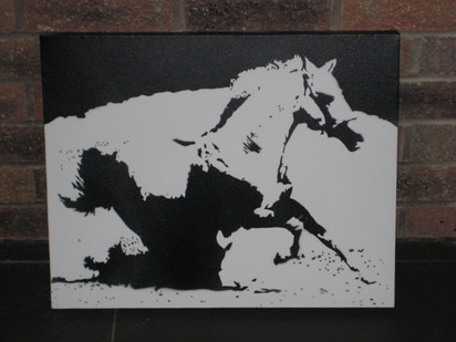 "Stallion (24""x20"")"