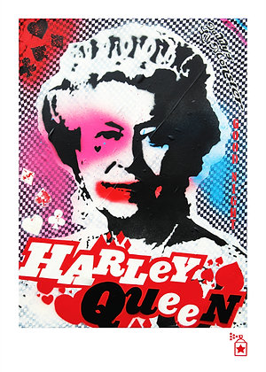 Harley Queen 'Dressed' (A3) Limited Edition Print