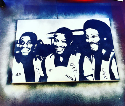 """The 3 Degrees (36""""x24"""")"""