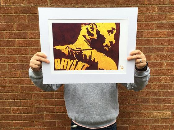 Gone: #1 Kobe (A4) Limited Edition Print