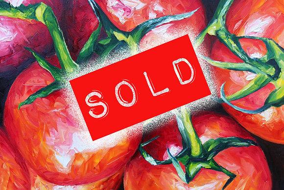 Tomatoes by Joe Giampalma Original (SOLD)