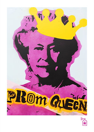 Prom Queen 'Dressed' (A4) Limited Edition Print