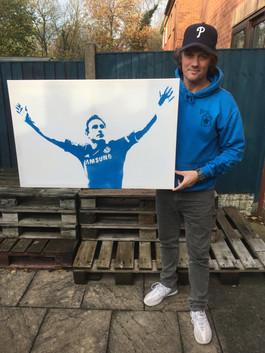 "Super Frank Lampard (36""x24"")"