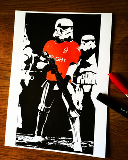 Storm Trooper Forest Division (A4)