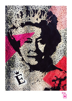 Leopard Queen 'Dressed' (A4) Limited Edition Print