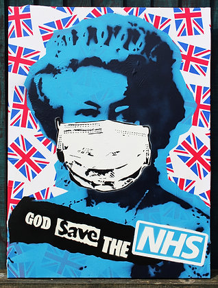 God Save The NHS Original Spray
