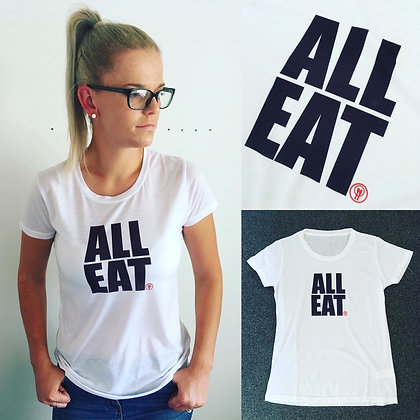 ALL EAT Women's T-shirt - Preventing Child Food Poverty