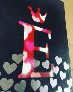 E Heart (A4)