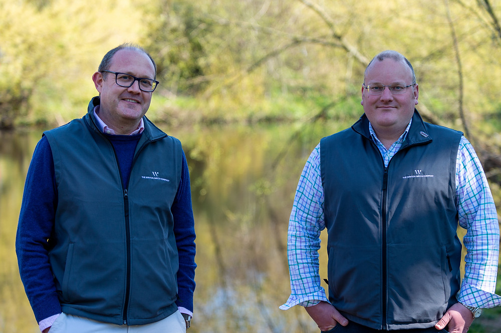 Founders of The Winton Watch Company, Simon Hebb and Chris Holder