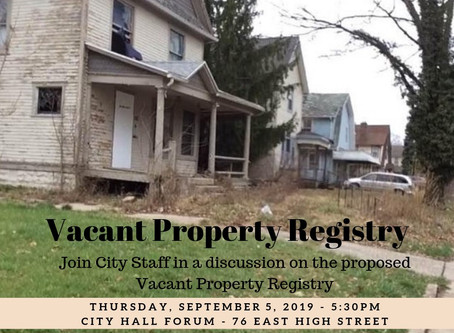 Vacant Property Registry
