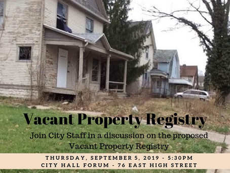 Vacant Property Registry