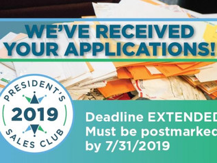 Apply for the 2019 Ohio REALTORS Presidents Sales Club by July 31st