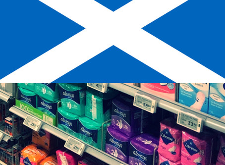 Scotland becomes the first nation to provide free pads and tampons