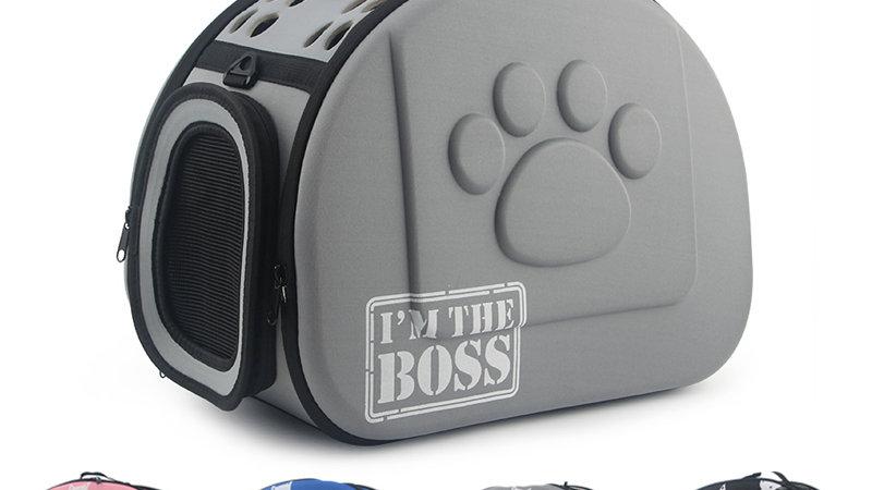 Foldable Pattern Dog Carrier Bag