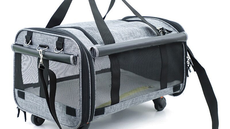 Dog Carrier Bag with Wheels