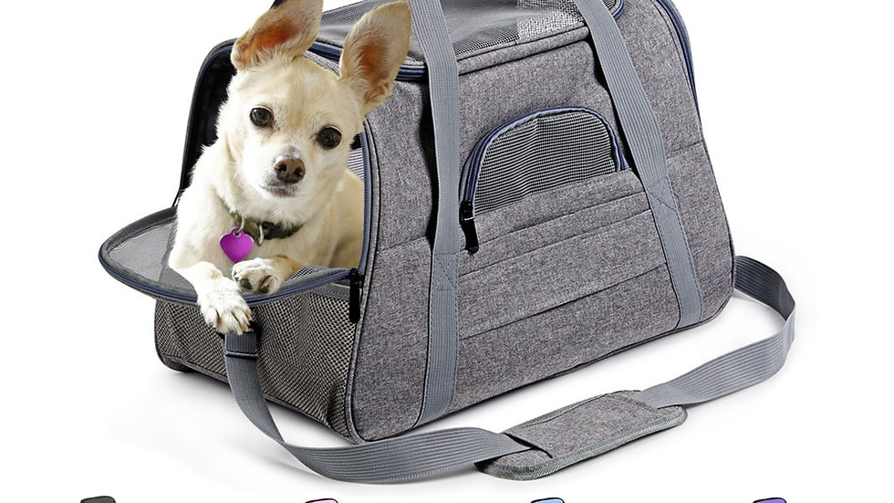Standard Duffle Dog Carrier Travel Bag