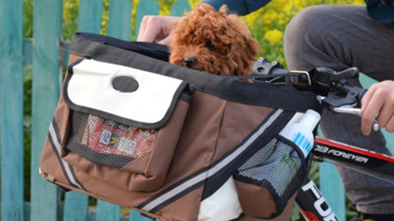 Bicycle Dog Carrier Seat Bag (Add-on Accessories)