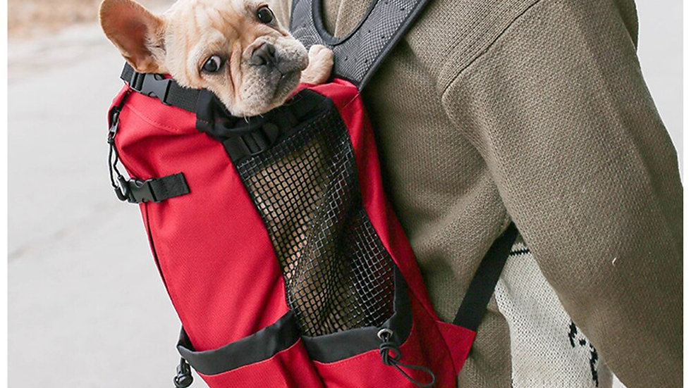Adjustable Dog Carrier Travel Backpack for Hiking/Cycling