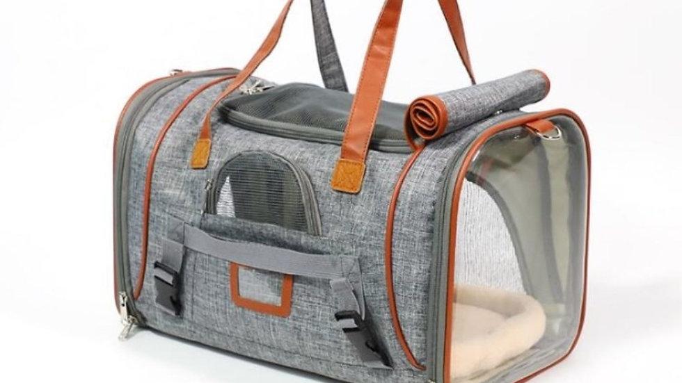 Dog Carrier Portable Messenger Bag with Soft Side