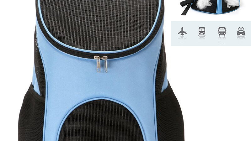 Foldable Dog Carrier Backpack (Many Colors)