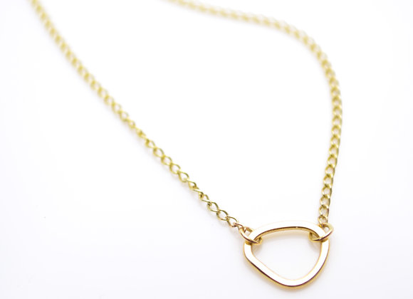 9ct Gold Single Cell Necklace