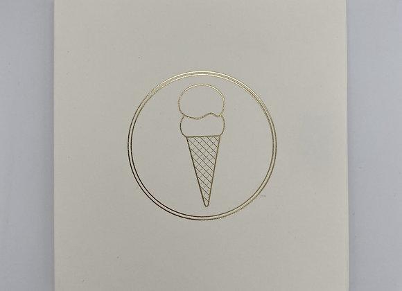 Handmade Cone Card