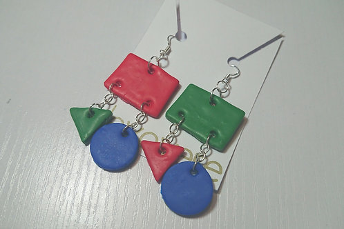 Block Colour Earrings