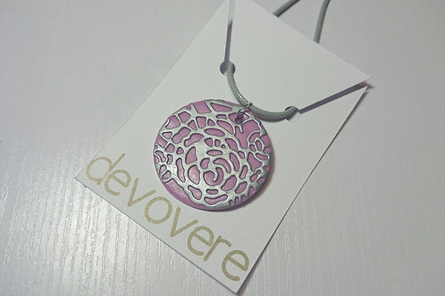 Lilac Blooms Necklace