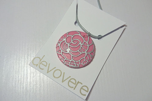 Pink Blooms Necklace