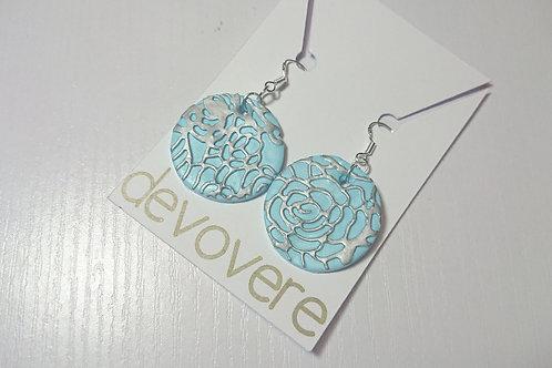 Blue Blooms Earrings