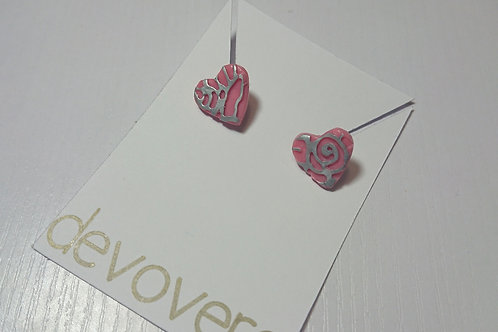 Pink Blooms Earrings