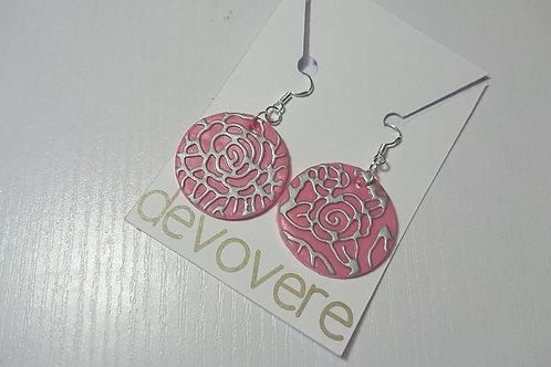 Pink Blooms Earrings