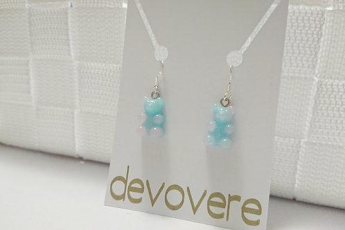 Iridescent Gummy Bear Earrings
