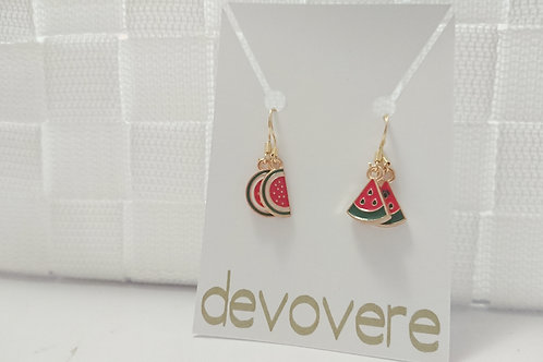 Mix and Match Watermelon Earrings