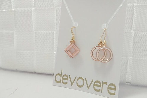 Mix and Match Geometric Earrings