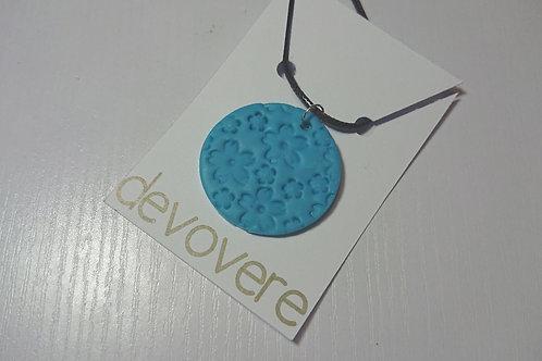 Blue Cherry Blossom Necklace