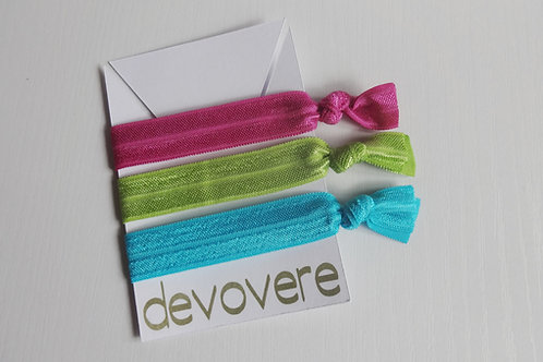 Hair Ties - Rainbow