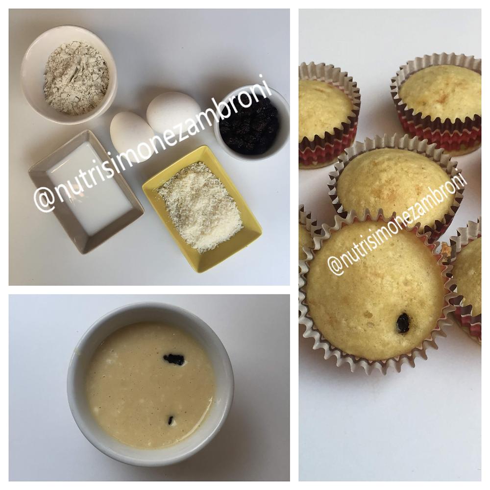 Ingredientes do bolo de coco